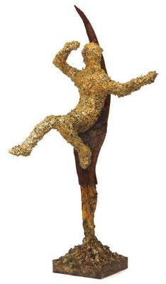 skulptur, bronze | höhe 46 cm