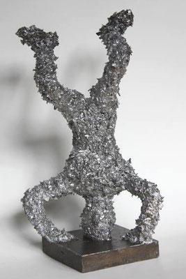 skulptur, aluminium | höhe 29 cm