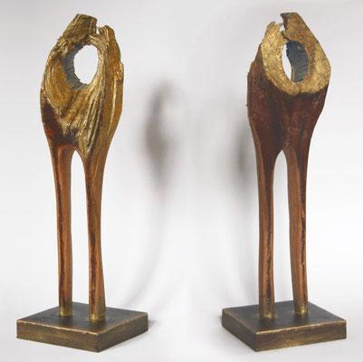 skulptur, bronze | höhe 35 cm