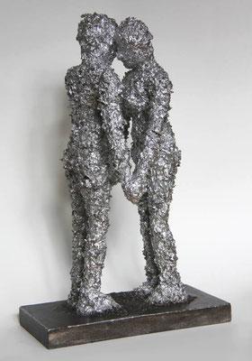 skulptur, aluminium | höhe 32 cm