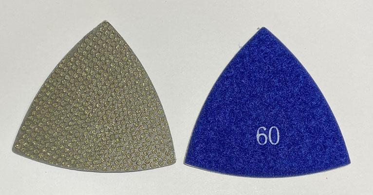 三角ダイヤモンドパッド #60