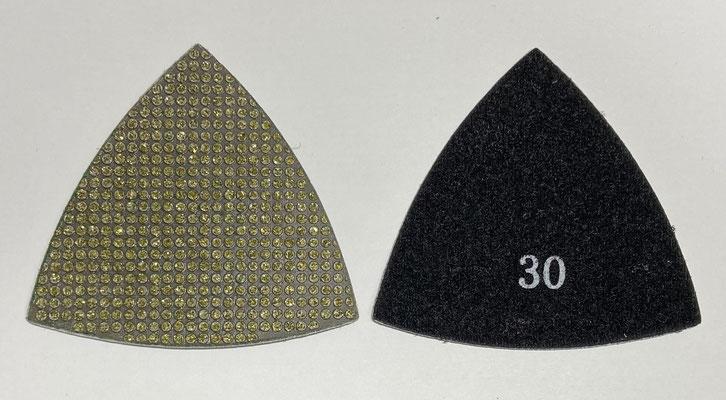 三角ダイヤモンドパッド #30
