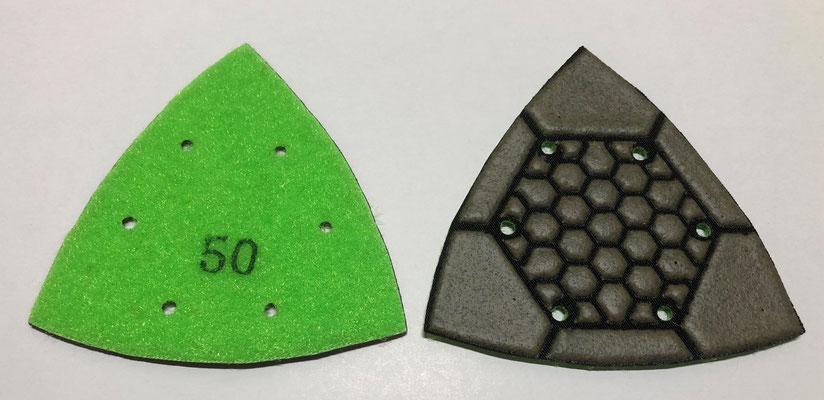 三角レジンパッド #50