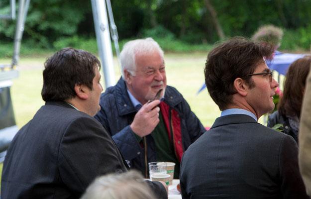 Carstensen im Gespräch mit Dr. Müller, OV Itzehoe