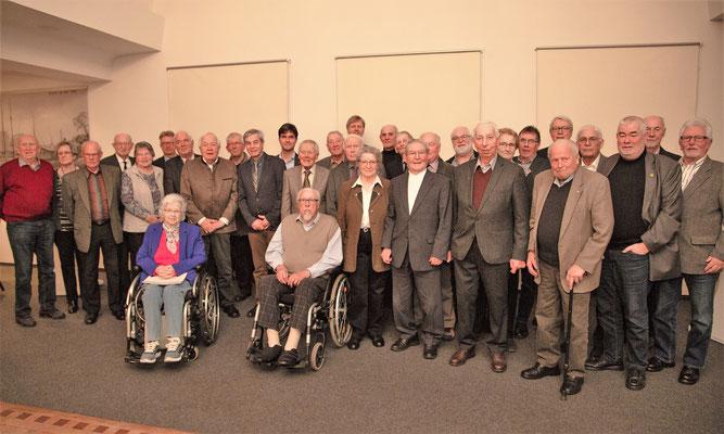 Alle Jubilare des CDU Kreisverbandes Steinburg für 2019