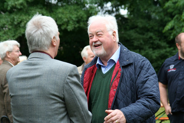 Carstensen mit Bürgermeister Hans Heinrich Barnick
