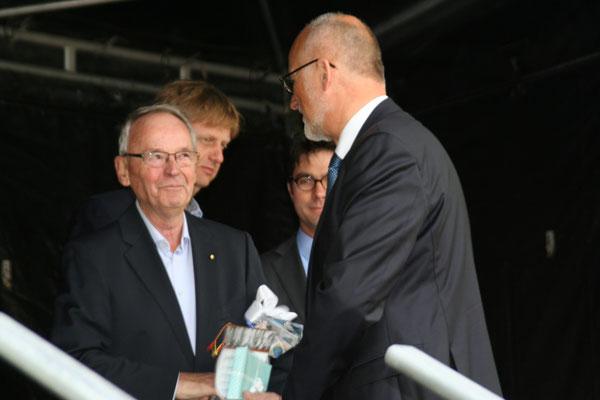 Auszeichnung Klaus Soltau 50 Jahre Mitgliedschaft, Johann Hansen
