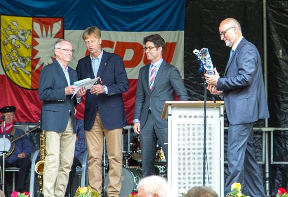 Auszeichnung Klaus Soltau 50 Jahre Mitgliedschaf