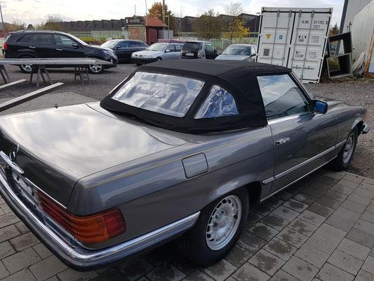 280 SL deutsche Erstauslieferung