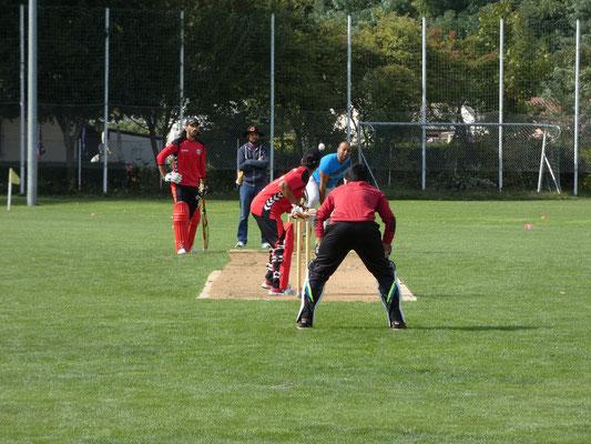Konzentration, Präzision und Schnelligkeit sind der Schlüssel zum Erfolg im Cricket.