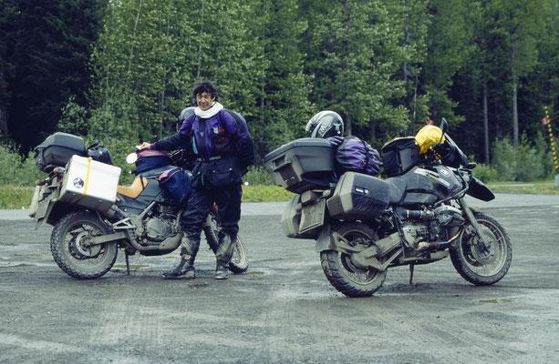 Auf dem Alaska Highway, Kanada