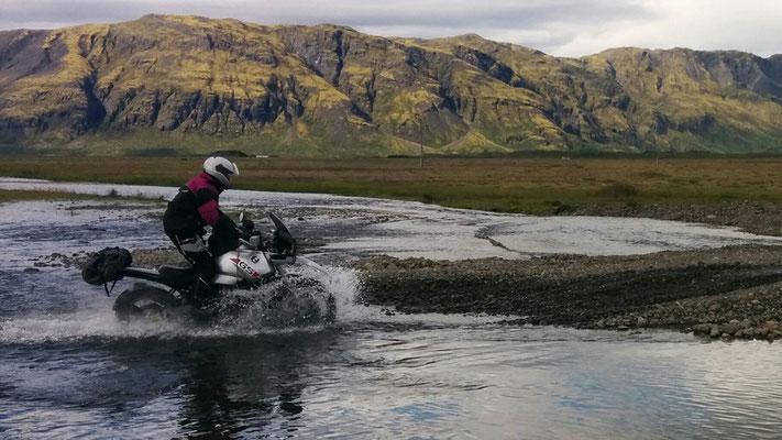 Wasserdurchfahrt, Island