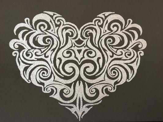 Wandmalerei Ornament