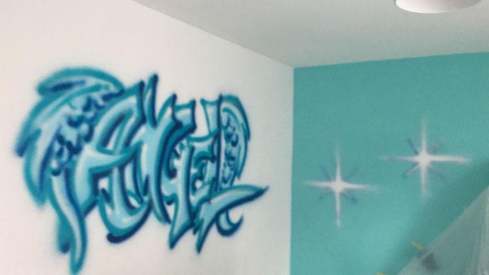 Graffiti Jugendzimmer