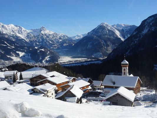 ... wir wär's mit einer Auszeit im gemütlichen Brandnertal im Vorarlberg?