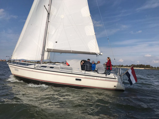 Start sailing cource en dayskipper