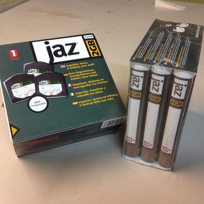 JAZ 2 GB Speichermedim 3er Paket zu 5.00