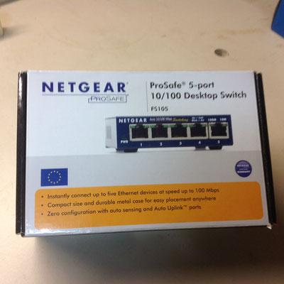 Netgear 10/100  Desktop Switch 15.00