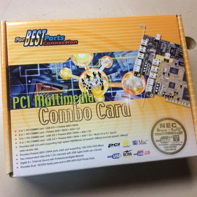 PCI Karte für USB und FireWire  für Mac oder WIN 10.00