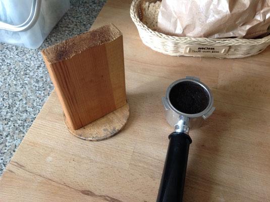 Kaffeesatz-Klopfer