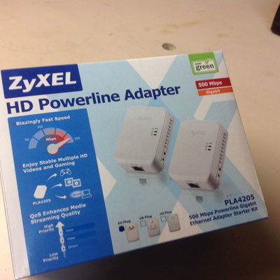Zyxel Powerline Adapter 35.00