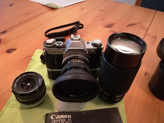 Canon AE-1 Spiegelreflex 100.00