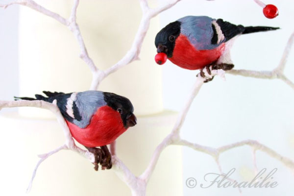 Holiday Wedding Birds von Floralile