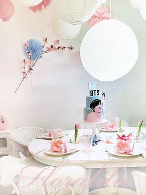 BTS Cake   Floralilie Sugar Art