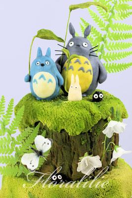 Totoro Cake   Floralilie Sugar Art
