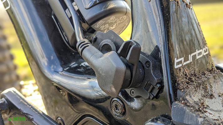 Detailaufnahme des e-MTB Specialized Levo SL 1.1 Motors