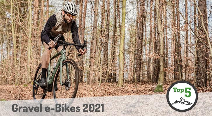 Die besten Gravel e-Bikes 2021