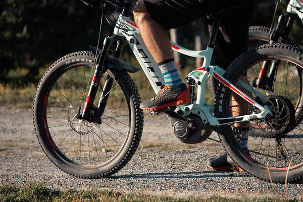 Giant SyncDrive Pro und SyncDrive Sport Antriebe speziell für e-Mountainbike Einsatz