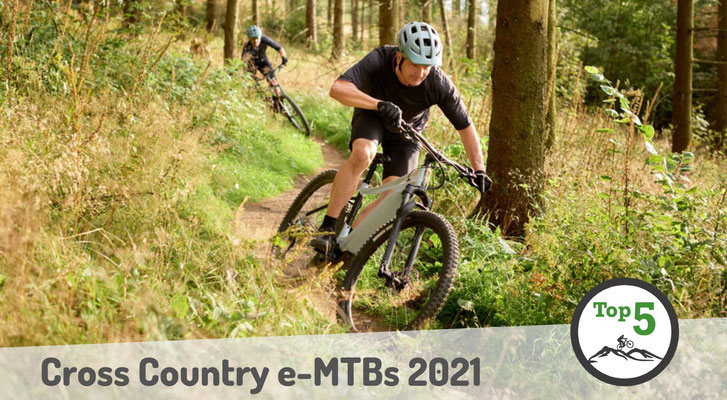 Die besten Cross Country e-Mountainbikes 2021