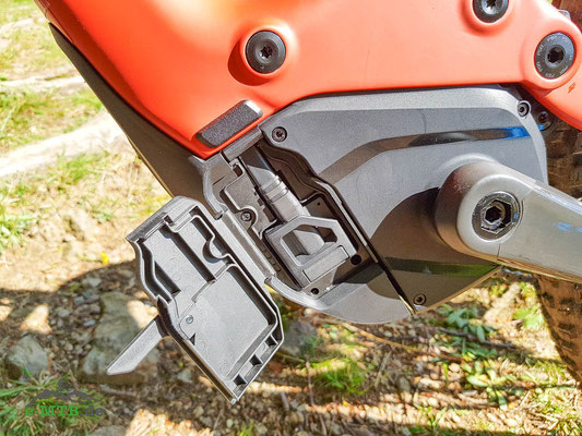 Der Specialized 2.2 Motor von Brose am Turbo Levo Gen3