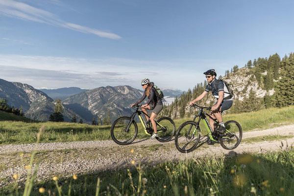Für lange Touren und mittelschwere Trails optimal.