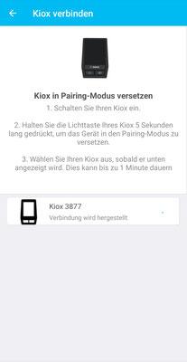 Bosch KIOX App