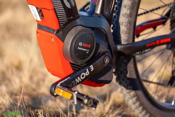 Der Bosch Performance CX wurde für den Einsatz in e-Mountainbikes entwickelt.