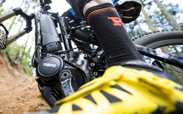 Yamaha PW-X e-MTB Motor