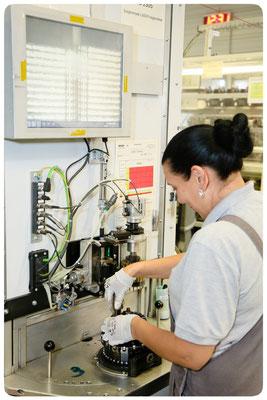 Produktion eines Bosch e-MTB Antriebs