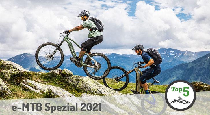 Die besten Spezial e-Mountainbikes 2021