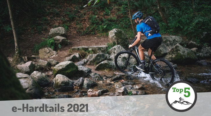 Die besten Hardtail e-Mountainbikes 2021