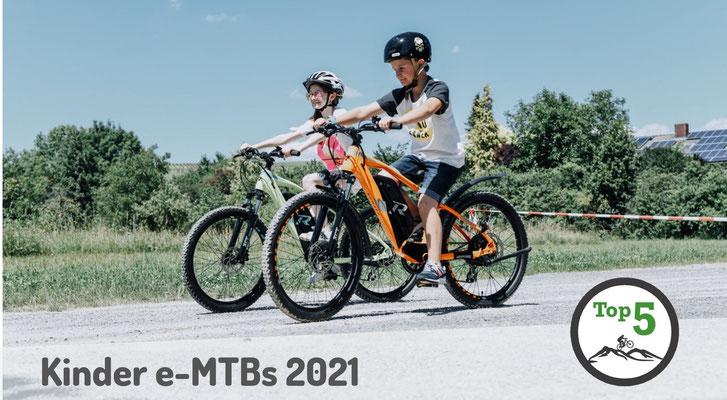 Die besten Kinder e-Mountainbikes 2021