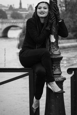 Modèle : Aïline Nishi / Photographe : Nicolas Marguerie / Coiffure : Caroline Carvalho