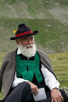 Alphornbläser aus Südtirol
