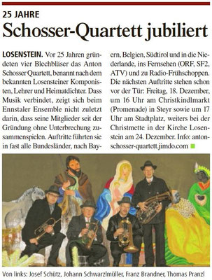 Tips Steyr am 16.12.2015