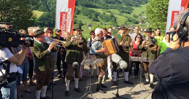 """LIVE in ORF2 """"Guten Morgen Österreich"""" am 30.05.2017 in Losenstein"""