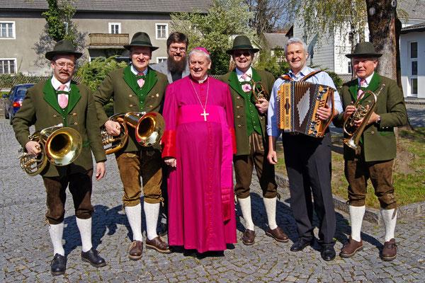 ASQ mit Bischof Ludwig Schwarz
