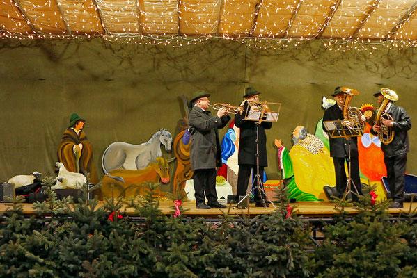 Adventmarkt Promenade Steyr im Dezember 2014