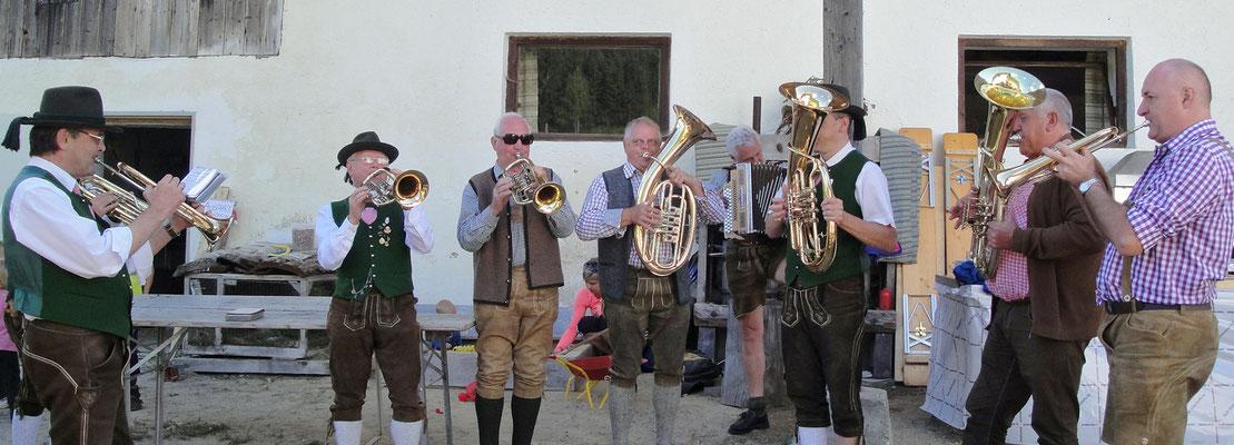 Gesamtspiel mit den Bad Haller Bläsern, Gastmusiker Roman Blasl aus Trattenbach