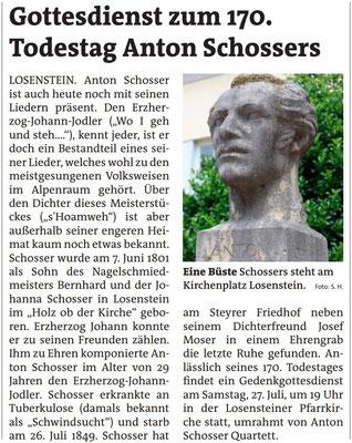 Bezirksrundschau Steyr 19.07.2019